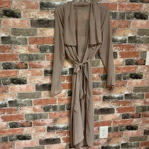 Jackets & Blazers - Sheer cardigan